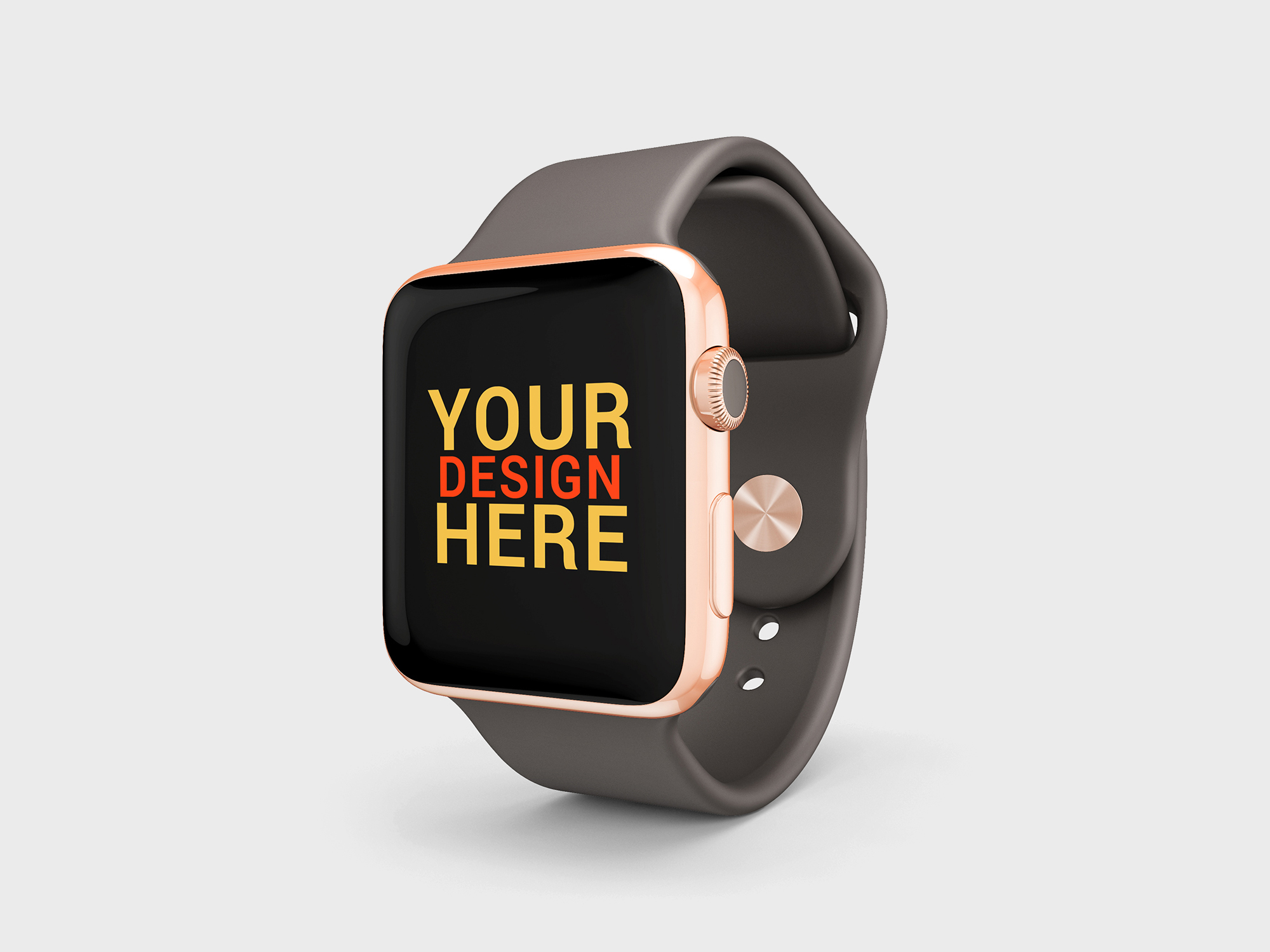 Apple Watch Sport Brand Edition Mockup