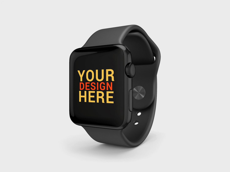 Apple Watch Sport Brand Edition Mockup
