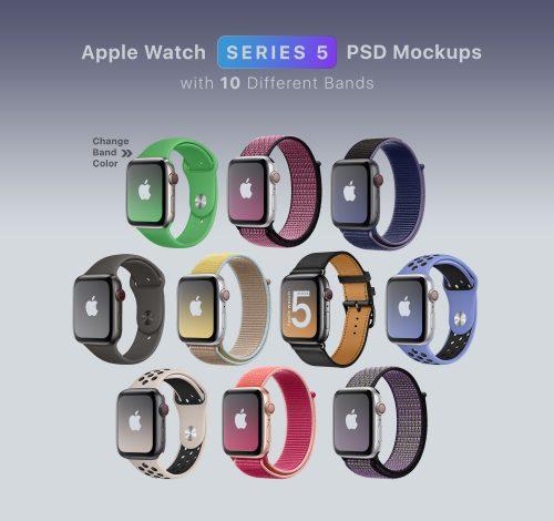 Apple Watch Wrist Mockup
