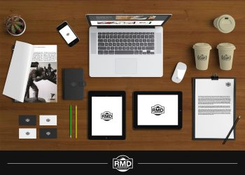 Desktop Digital Publishing Mockup