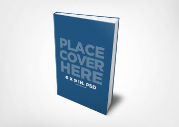 Hardcover Ebook Mockup