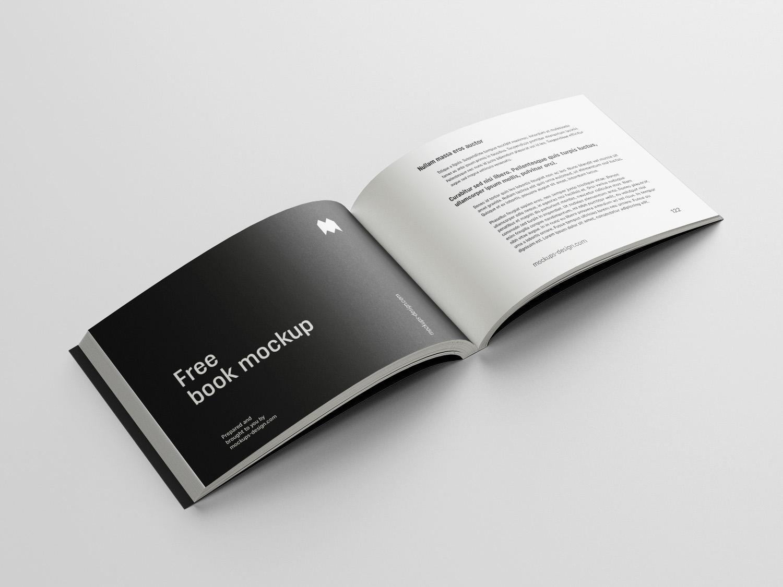 Landscape Book Mockup