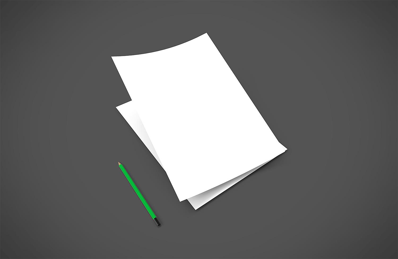 Letter Head Mockup
