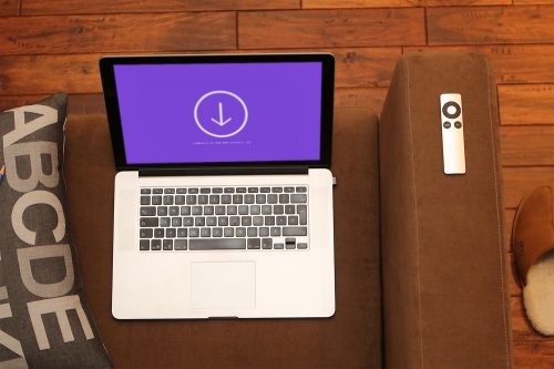 Macbook iPhone Office Mockups