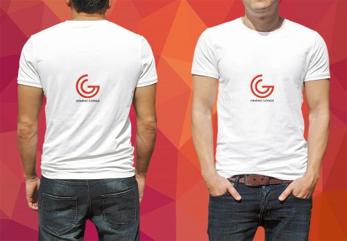 Mens T-Shirt PSD Mockup