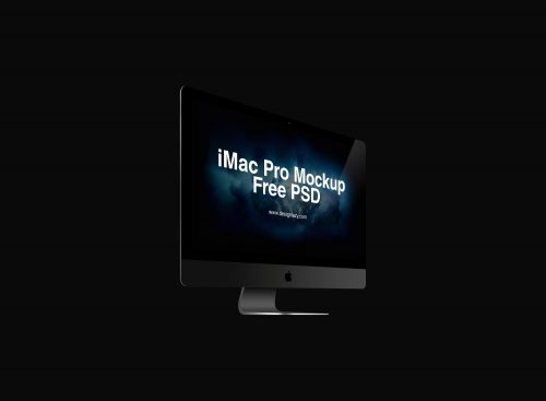 Perspective View iMac Pro