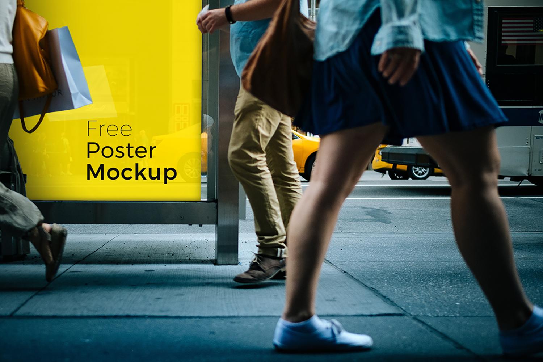 Poster and Billboard Free Mockups