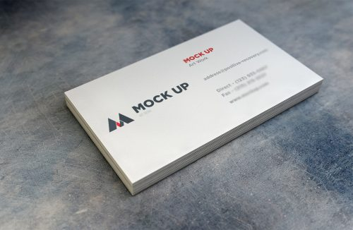 Realistic Business Card 2