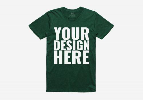 Realistic T-Shirt PSD Mockup