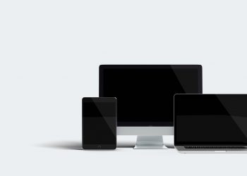 Responsive HD Apple Device Mockup