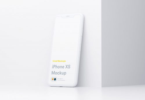 White iPhone Mockup