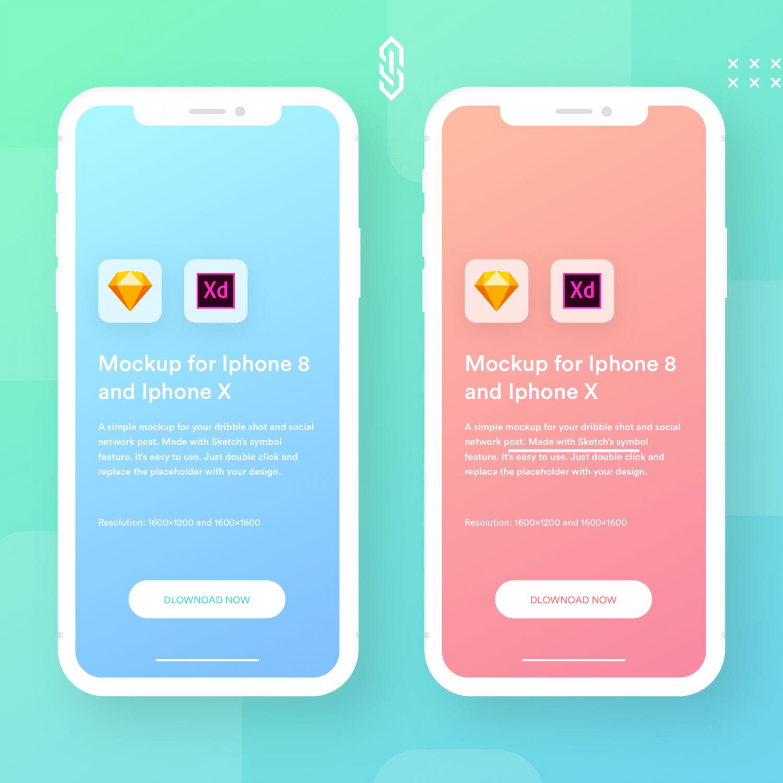 iPhone UI Presentation Mockups