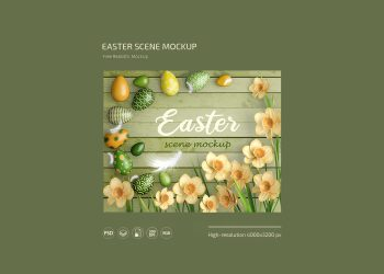 Easter Free Mockup Set