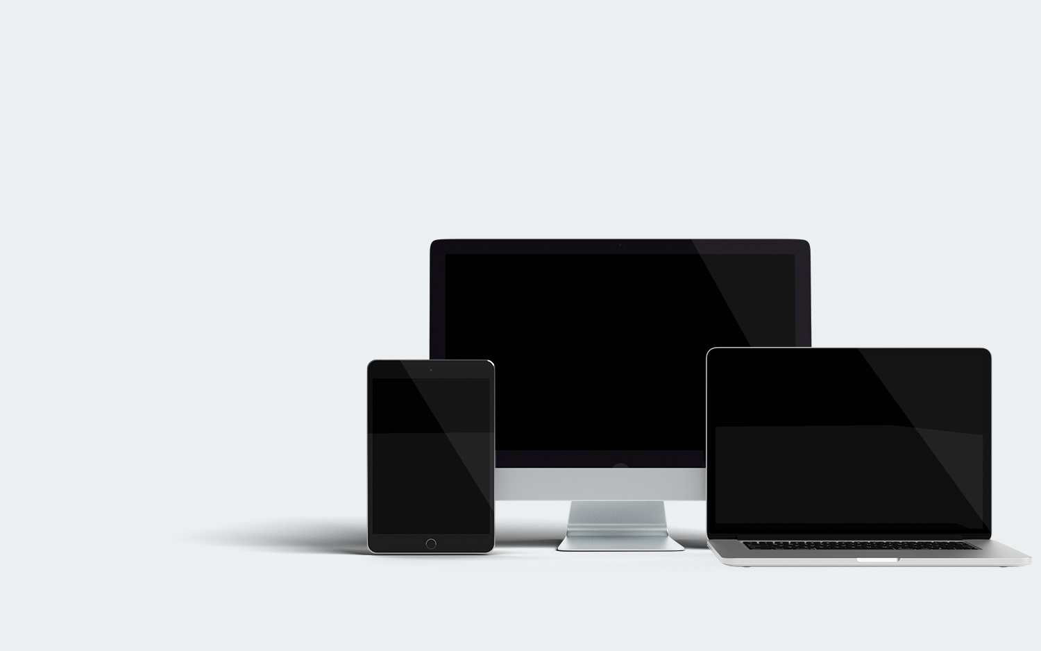 3 Devices Mockup
