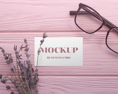 Business Card Free Mockup