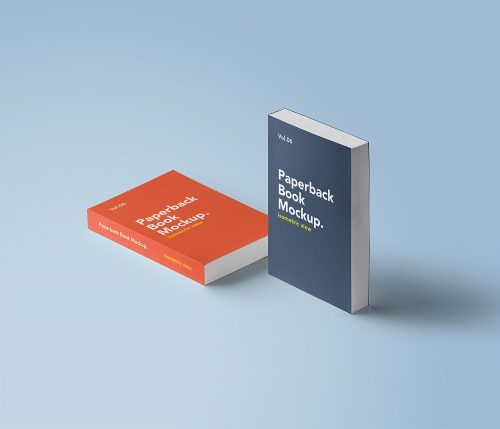 Cover Book Mockup Free