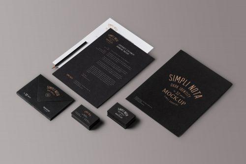 Elegant Brand Identity Mockup