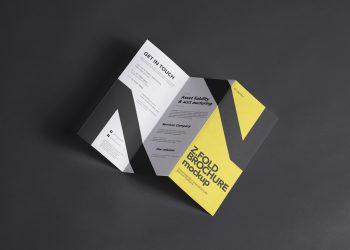 Flyer Mockup Z-Fold