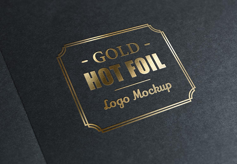 Foil Logo Mockup
