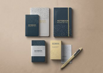 Free Notebook Mockup Set