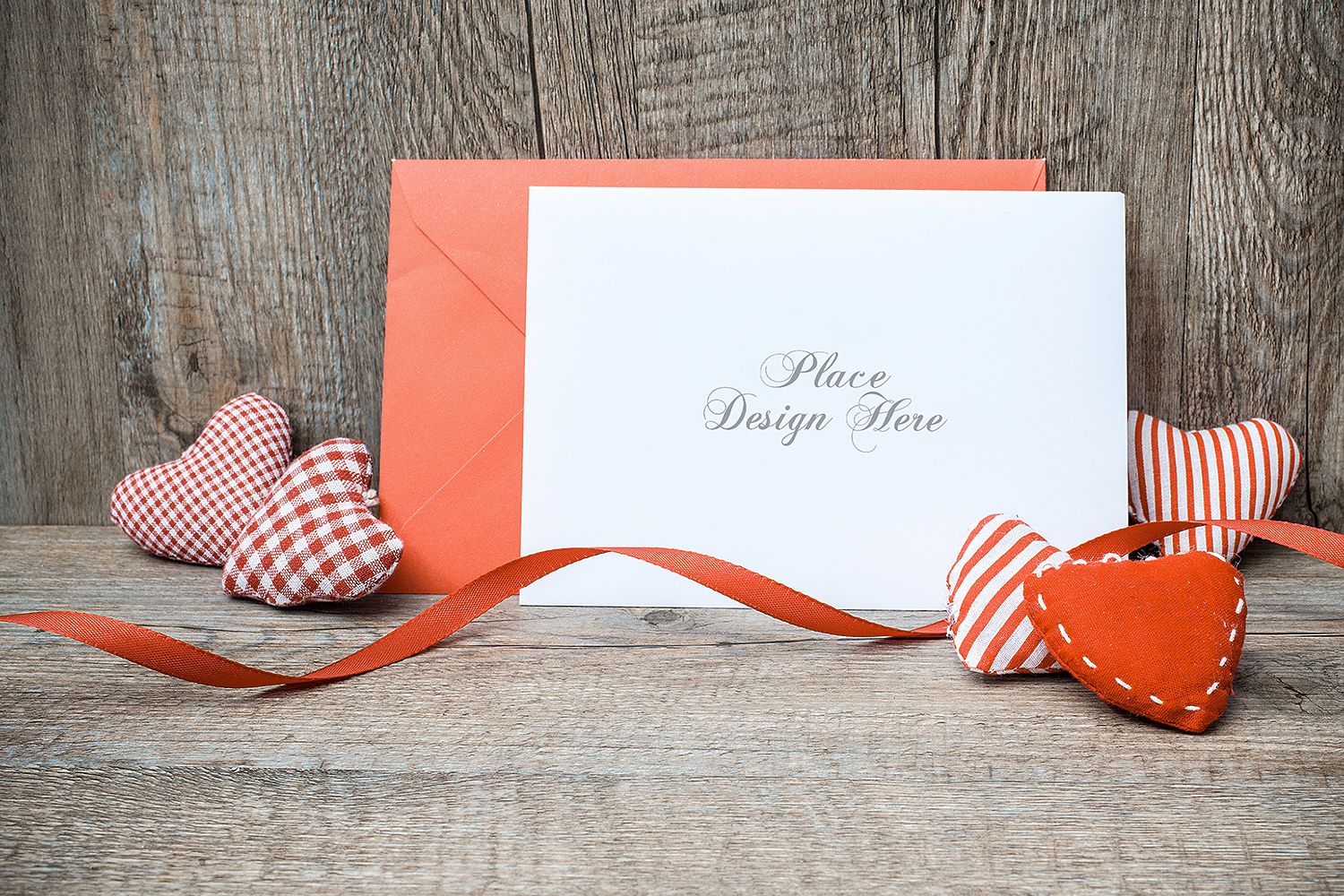 Greeting Card Free Mockup PSD Template