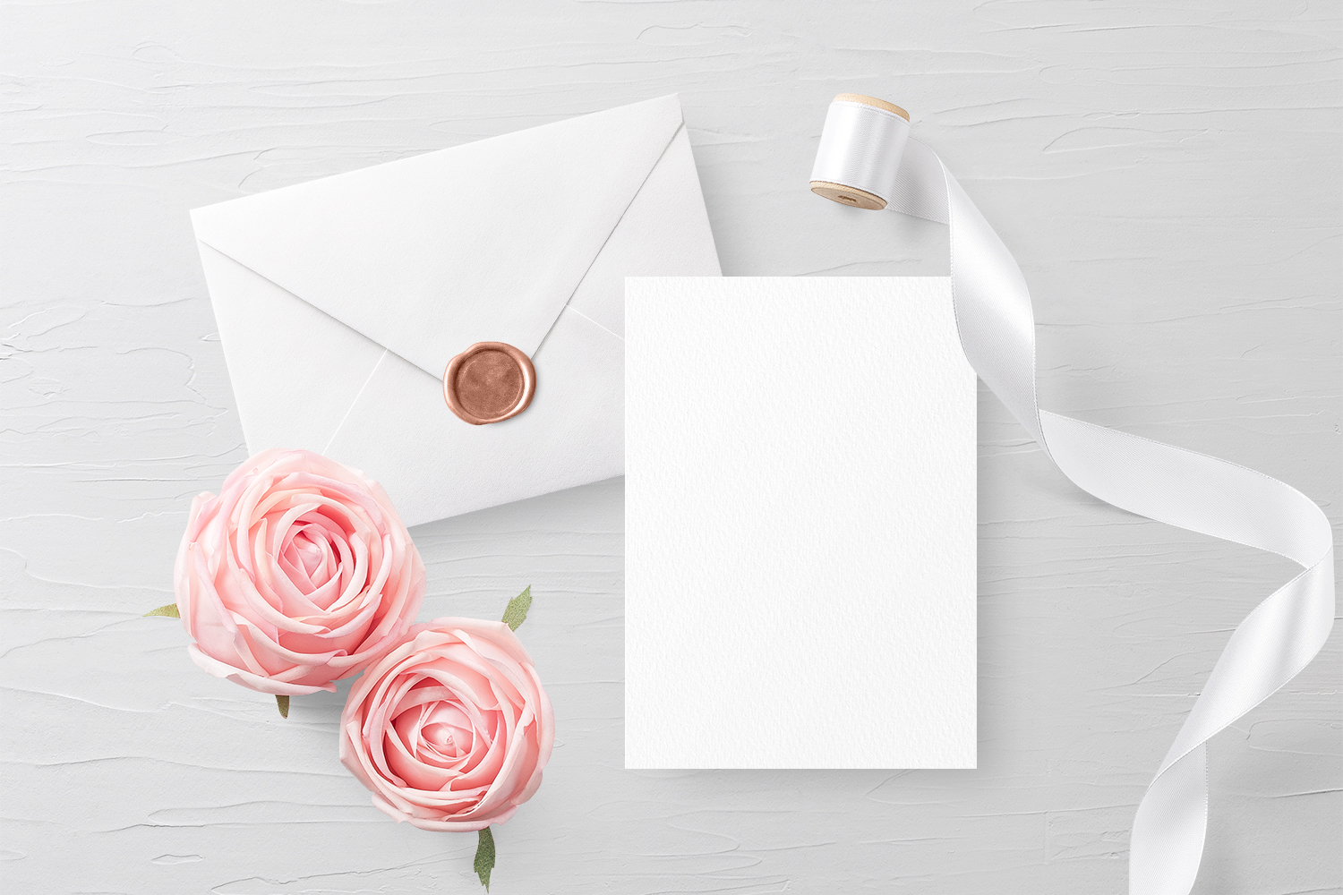 Invitation Card Envelope Mockup
