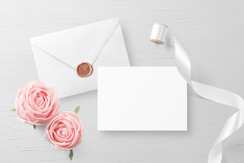 Invitation Card Envelope Mockup