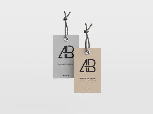PSD Label Brand Mockup