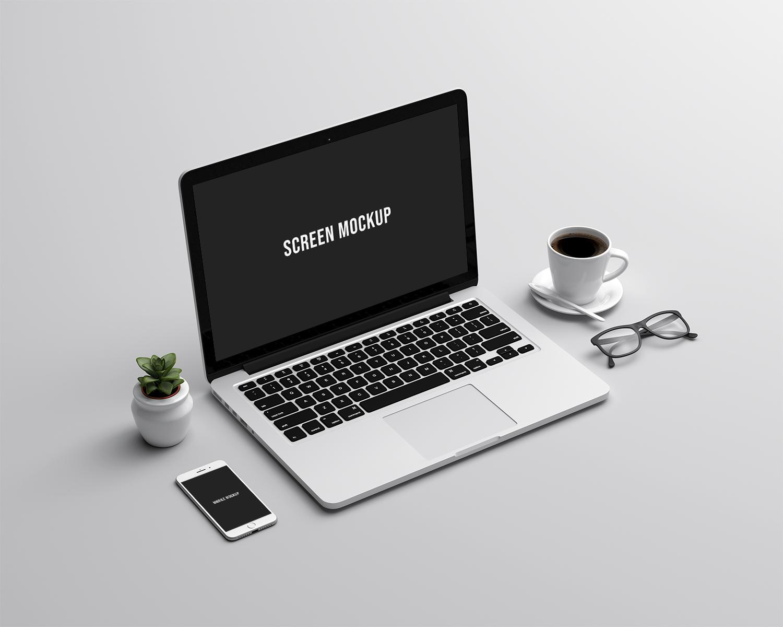 Mac Family Office Mockup
