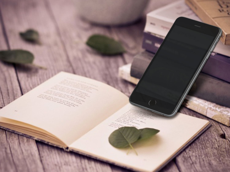 Photorealistic iPhone 6 Plus Mockup