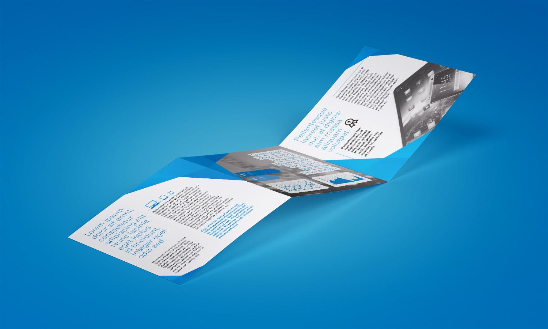 Trifold Square Brochure