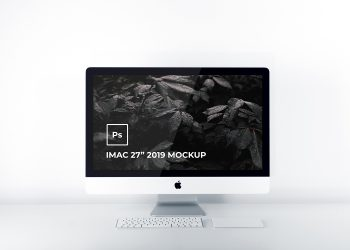 iMac 5k Retina 27 Inch Mockup