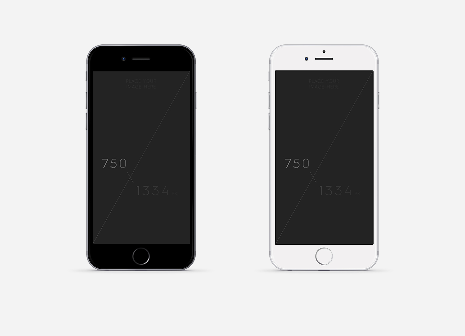 iPhone 6 PSD Mockup