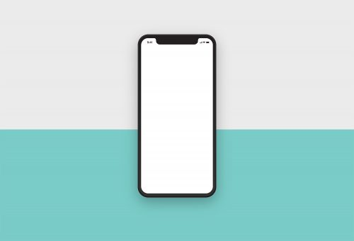 iPhone X Clean Mockup
