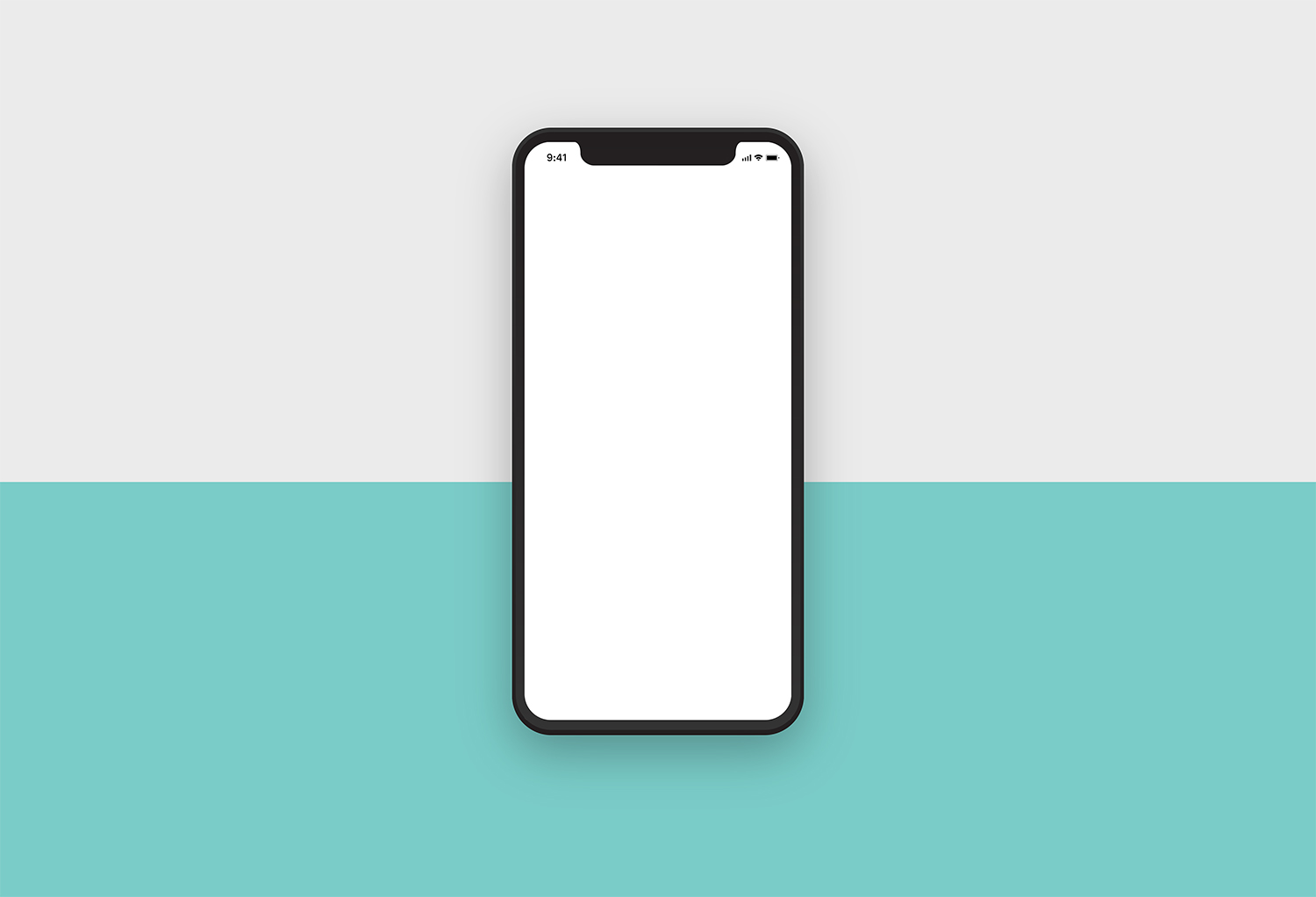 iPhone X Clean Mockup