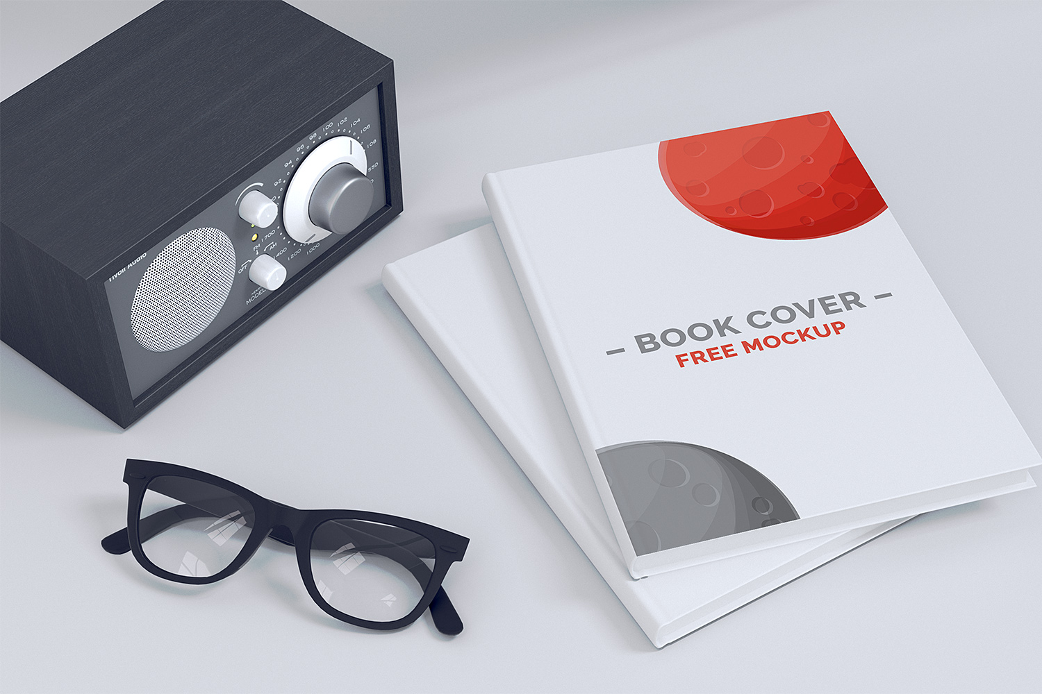 Book Cover Free Mockup