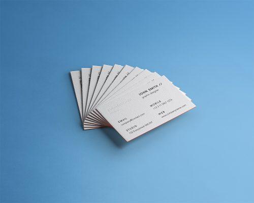 Business Card Branding Free Mockup