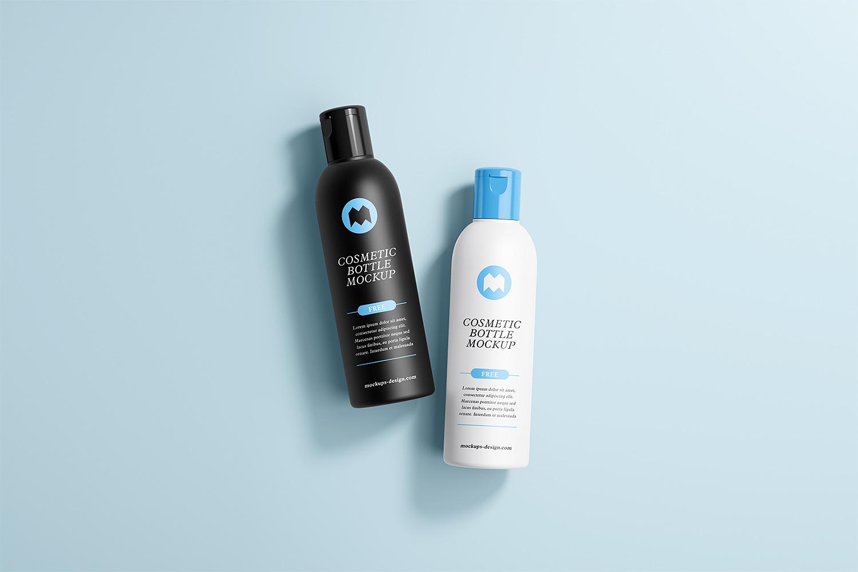 Free Cosmetic Bottle Mockups