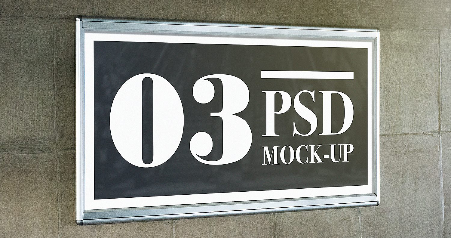 Outdoor Advertising Free Mockups Set