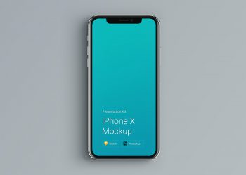 PSD iPhone X Mockup