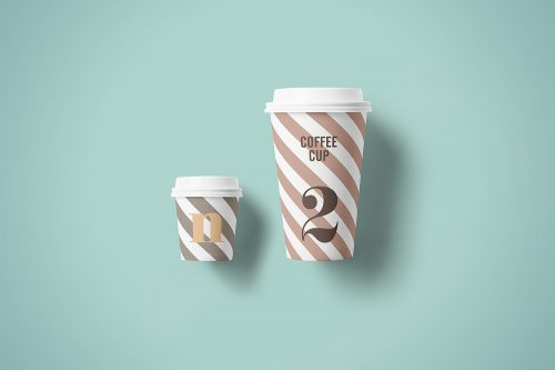 Paper Cup Mockup Free