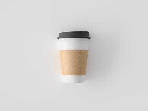 Simple Coffee Cup Mockup