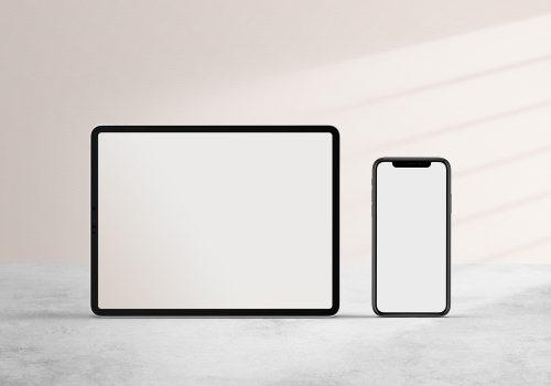iPad and iPhone Mockup