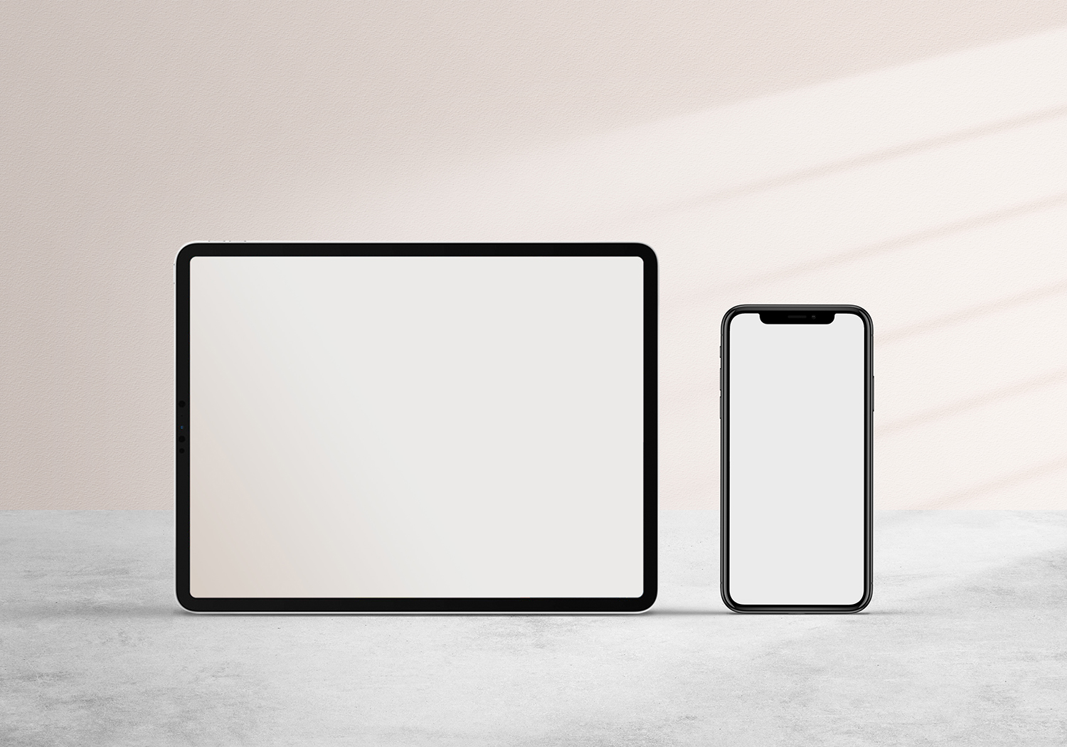 iPad and iPhone Mockup