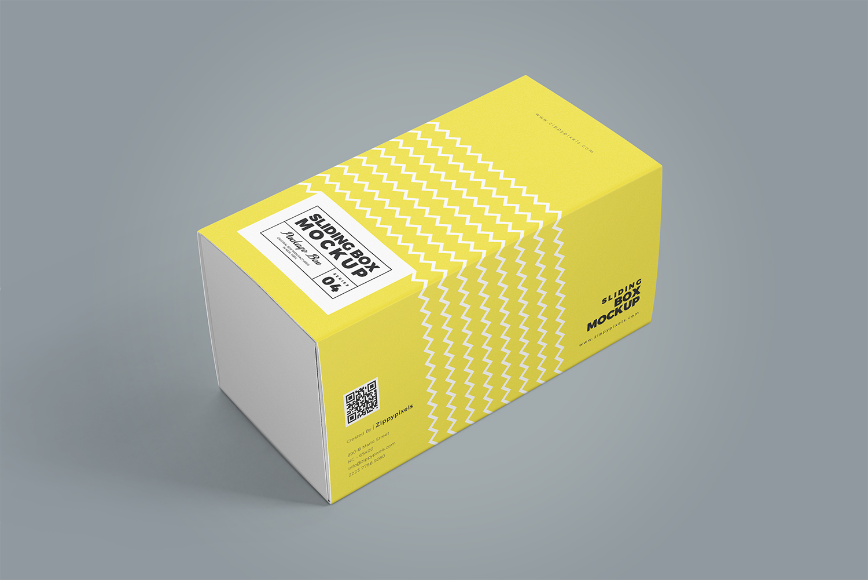 3 Free Cardboard Drawer Box Mockups