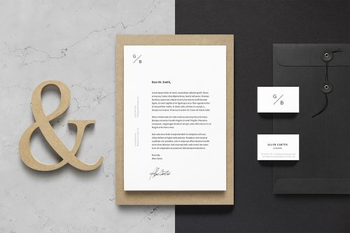 Branding Stationery Free Mockup