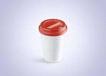 Coffee Cup Animated Mockup PSD