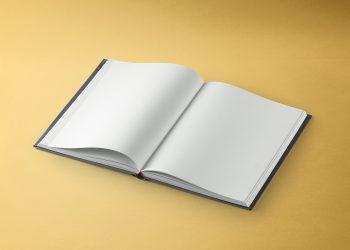 Dust Jacket Book Mockup PSD