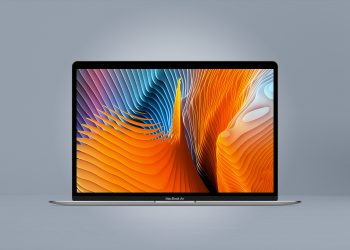Free MacBook Air 2018 Mockup