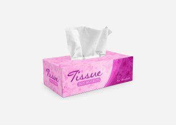 Free Tissue Box Mockups